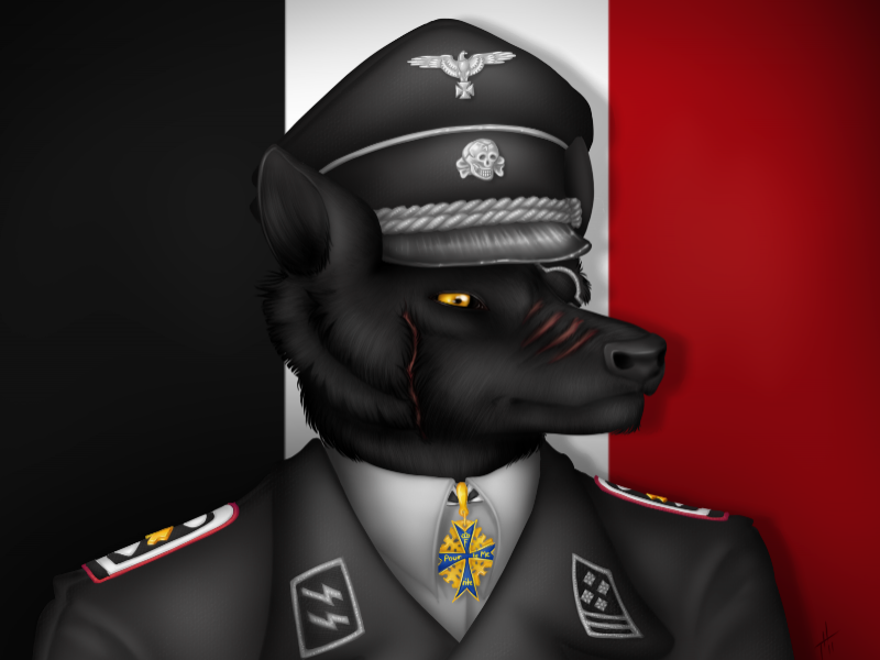Prussian Wolf Officer