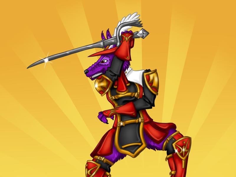 Zermit the Red Mage