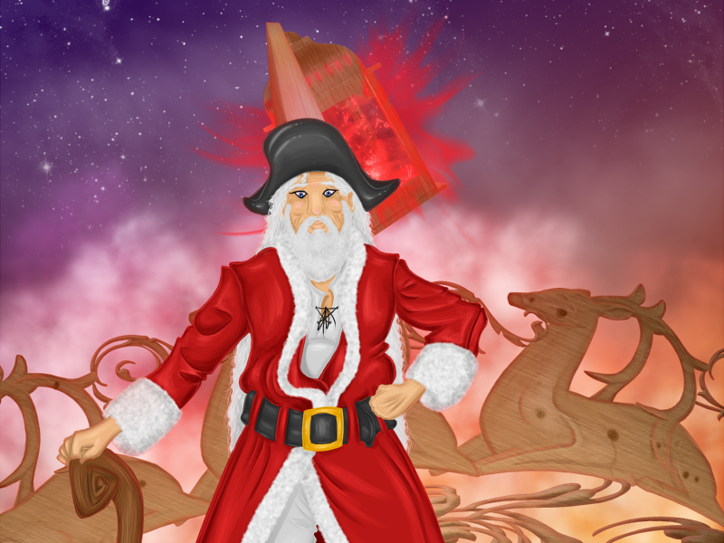What if Santa is a Pirate?
