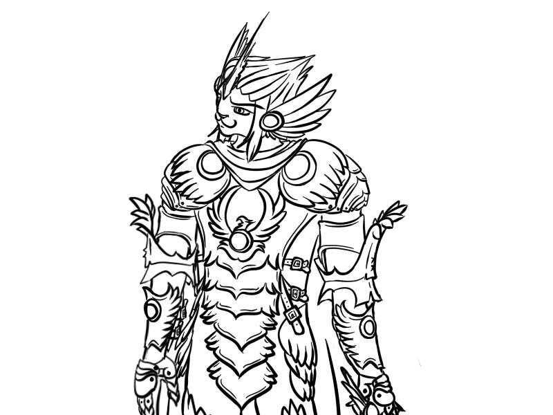 Unicorn Cat Knight