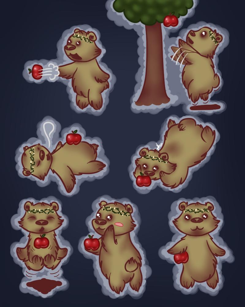 Ursa Major - Chibi Sheet