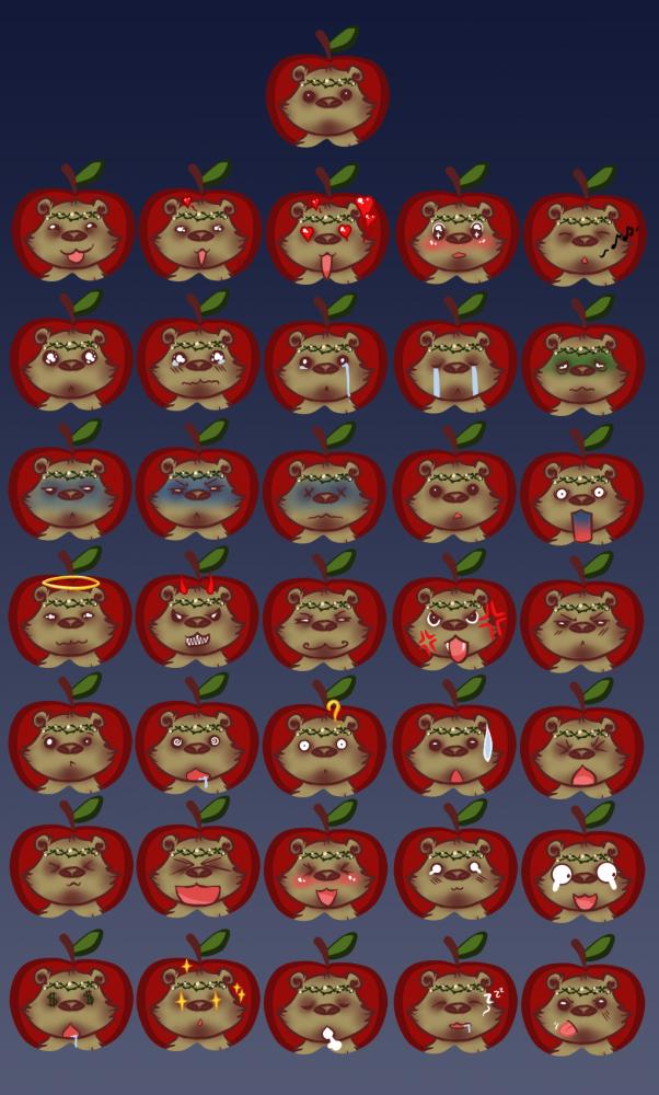 Ursa Major - Chibi Emotes